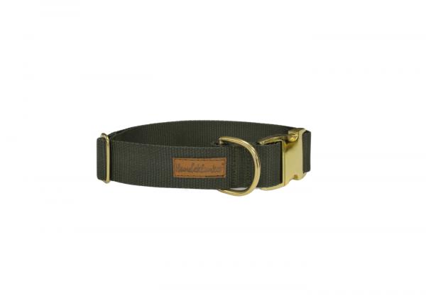 Halsband Uni Oliv GOLD