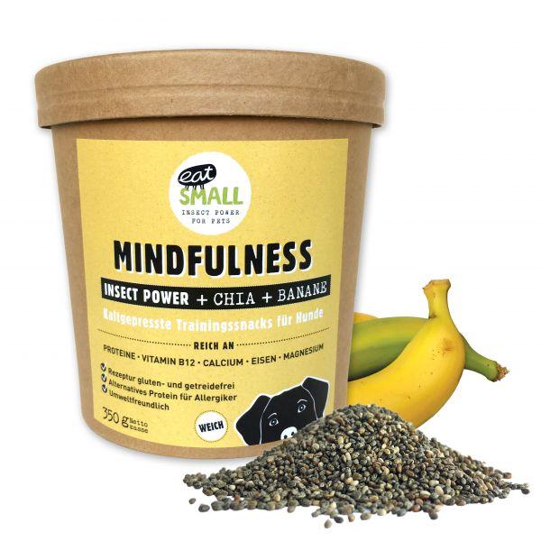 MINDFUL - Snacks mit Insekten Chia & Banane 350g