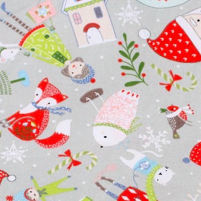 Muster Weihnachten liegt in der Luft