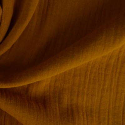 Muster Musselin Caramel