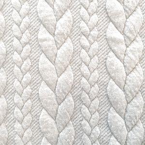 Muster Strick hellblau