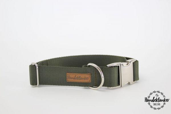 Halsband Uni Oliv