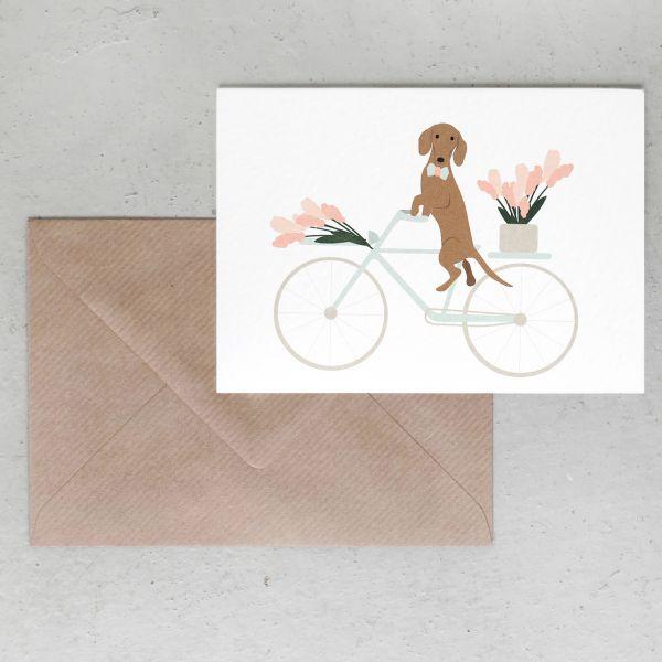 Grußkarte // Spring Ride