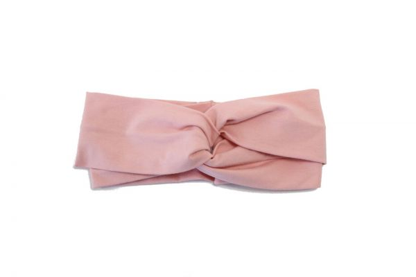 Stirnband Jersey Rosa