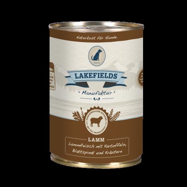 LAKEFIELDS Dosenfleisch Menü LAMM 6 x 400 g