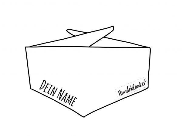 Personalisierung // Halstuch (Beispielfoto)