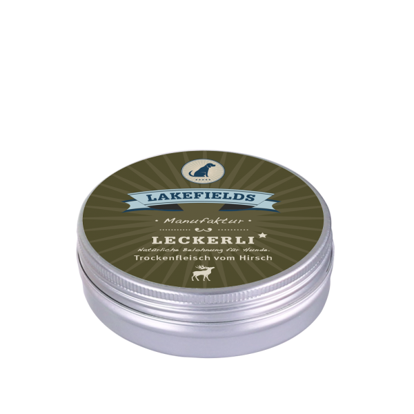LAKEFIELDS Leckerlidose WILD 50 g