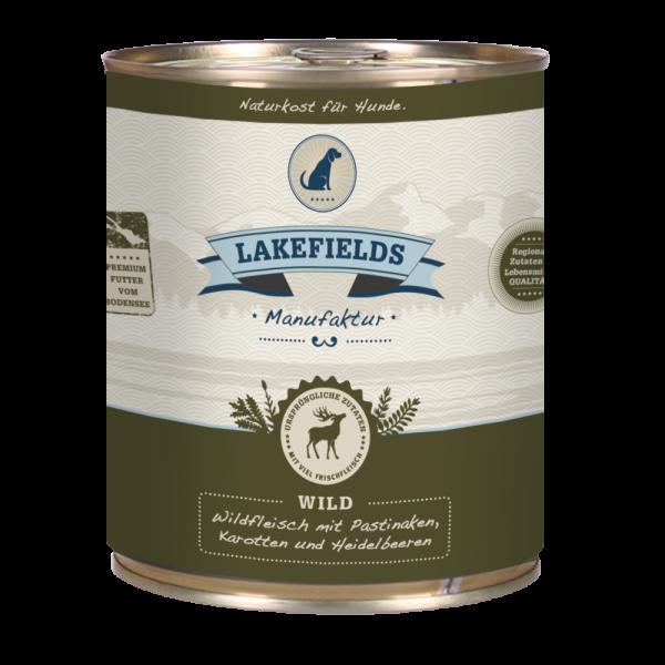LAKEFIELDS Dosenfleisch Menü WILD 6 x 800 g