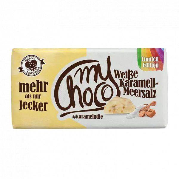 myChoco - Weiße-Karamell-Meersalz LIMITED