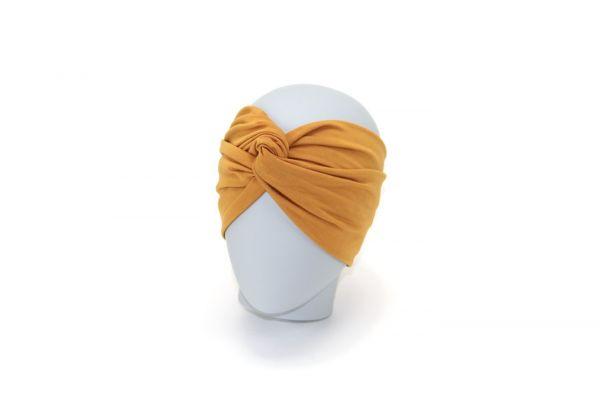 Stirnband Bambusjersey Caramel