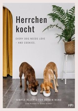 Herrchen kocht - Every dog needs love -and Cookies.