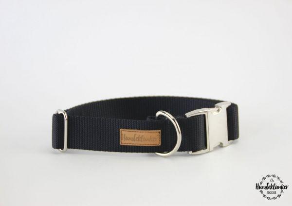 Halsband Uni Schwarz