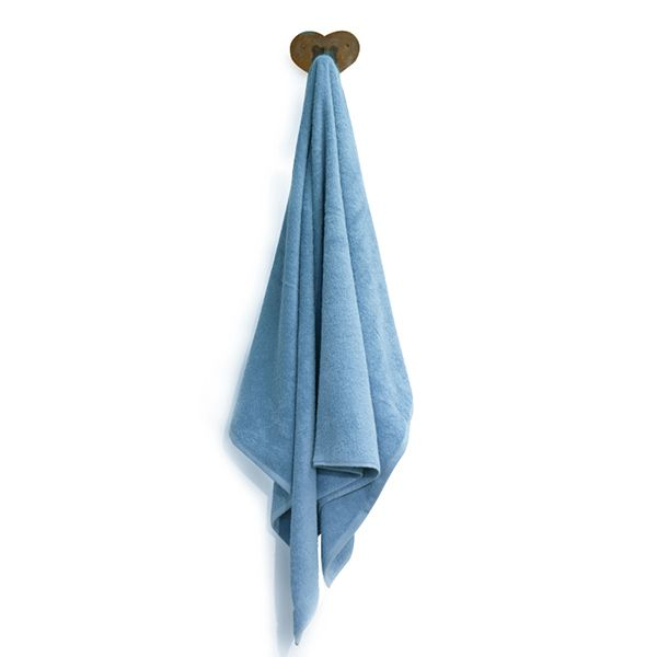 """Badetuch aus Bio-Baumwolle 100cm x 150cm """"Ocean Blue"""""""