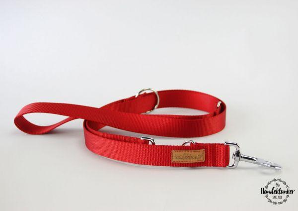 Leine Uni Rot