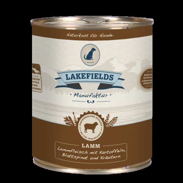 LAKEFIELDS Dosenfleisch Menü LAMM 6 x 800 g