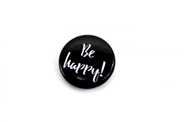 Soli Button // Be happy!