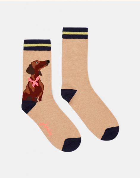 Dackel // Bambus Socken