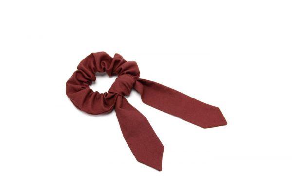Scrunchie // Haarband mit Schleifenband // Ruby