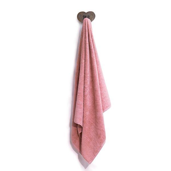 """Badetuch aus Bio-Baumwolle 100cm x 150cm """"Pink Berry"""""""